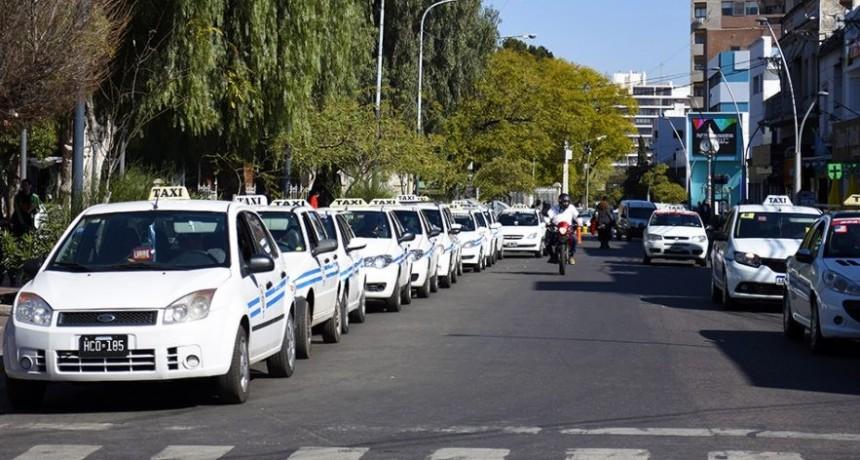 La crisis del transporte también afecta a los taxis de San Luis