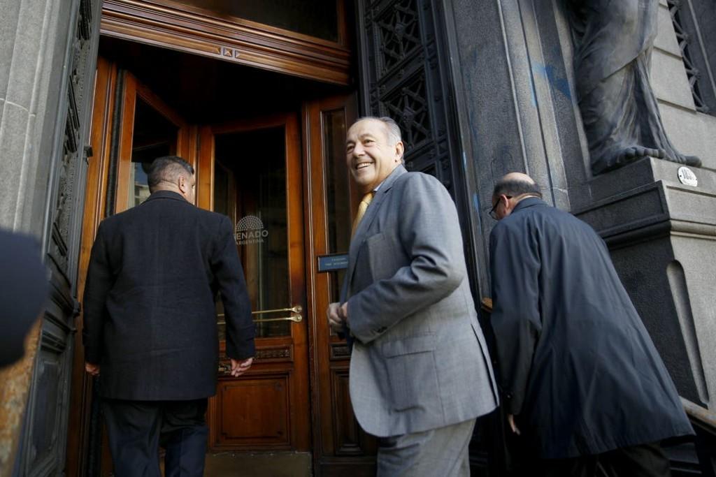 Adolfo Rodríguez Saá se sumó al Frente de Todos en el Senado