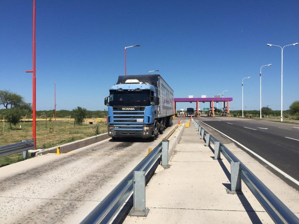 Desde enero a noviembre, se controló el peso de más de 212 mil camiones