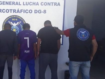 San Luis: tres hombres fueron enviados a la cárcel por infracción a la Ley 23.737
