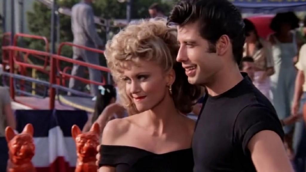 Olivia Newton-John y John Travolta recrearon