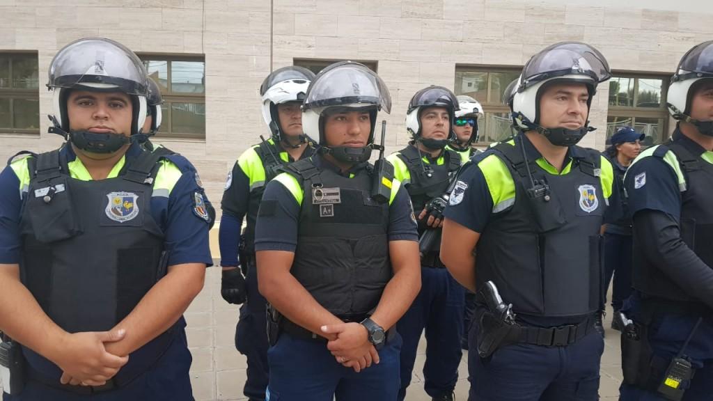 San Luis: La Policía refuerza su presencia en la zona céntrica en estas fiestas