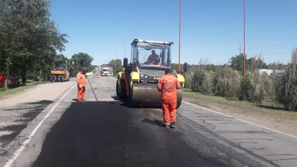 Vialidad Provincial: 14 mil kilómetros de desmalezado y 22.500 toneladas de asfalto en bacheo durante 2019