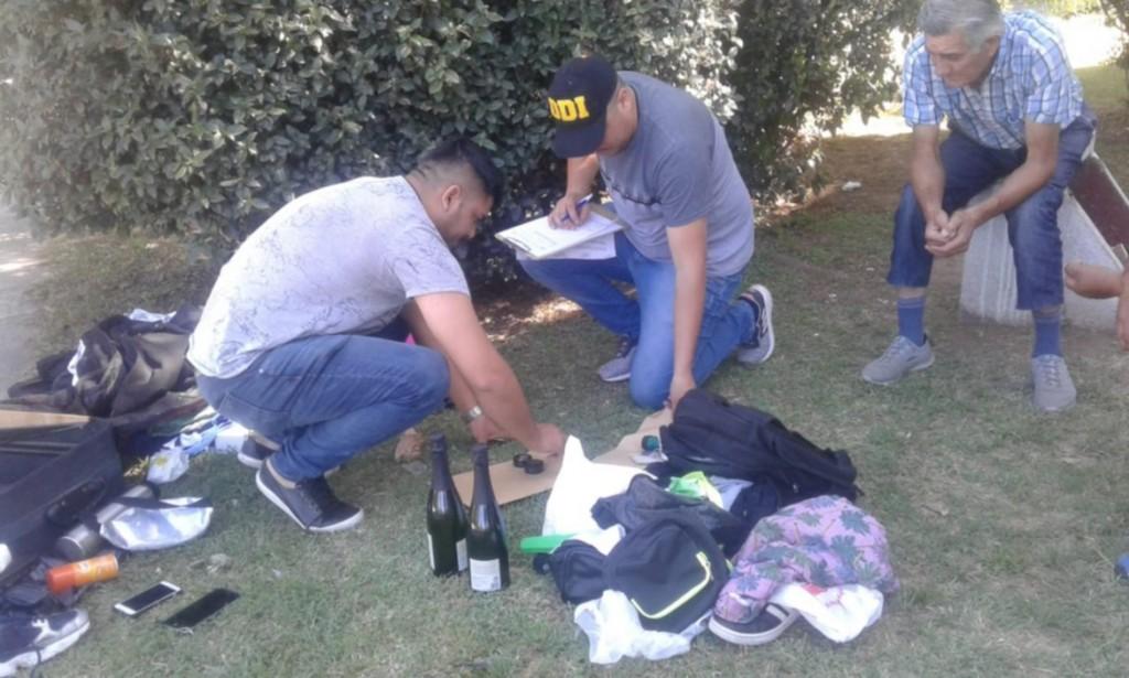 Merlo: Una pareja fue sorprendida con droga cuando bajaba de un colectivo que venía de Buenos Aires