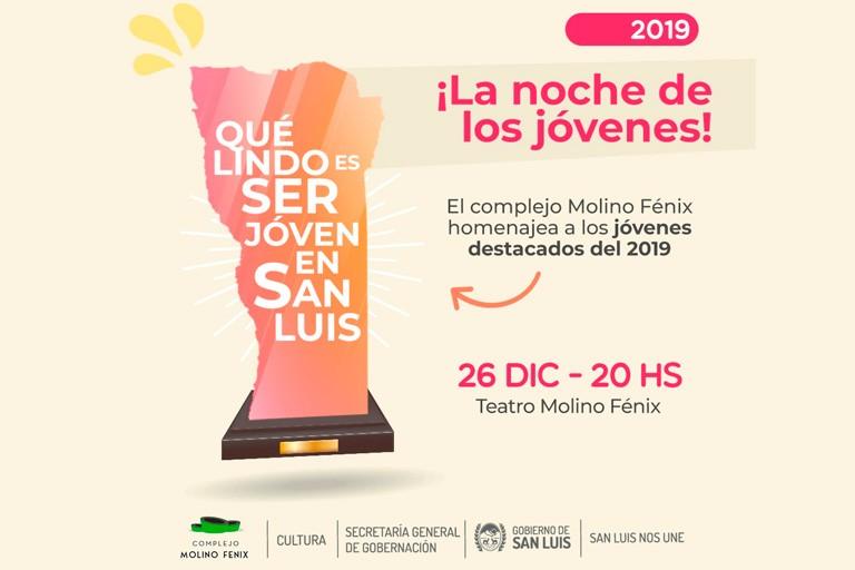"""Este jueves, el """"Molino Fénix"""" celebrará """"La Noche de los Jóvenes"""""""