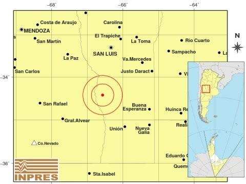 Un sismo de regular intensidad se registró al norte de Navia