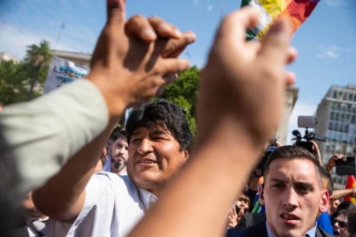 La embajada de EEUU le pidió al Gobierno que Evo Morales no abuse de su estatus de refugiado en la Argentina