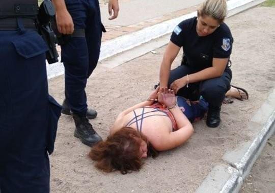 San Luis: detuvieron a una mujer que manejaba ebria y agredió a la Policía