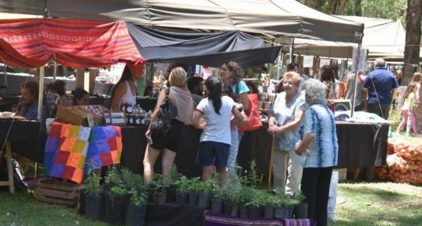 Las familias mercedinas disfrutaron de una nueva Feria de Pequeños y Medianos Productores