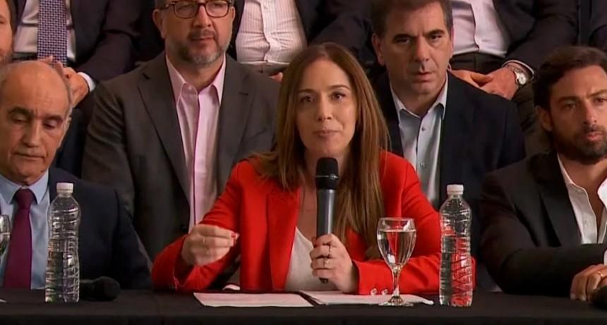 María Eugenia Vidal presentó el balance de su gestión: aseguró que deja menos deuda y menor déficit