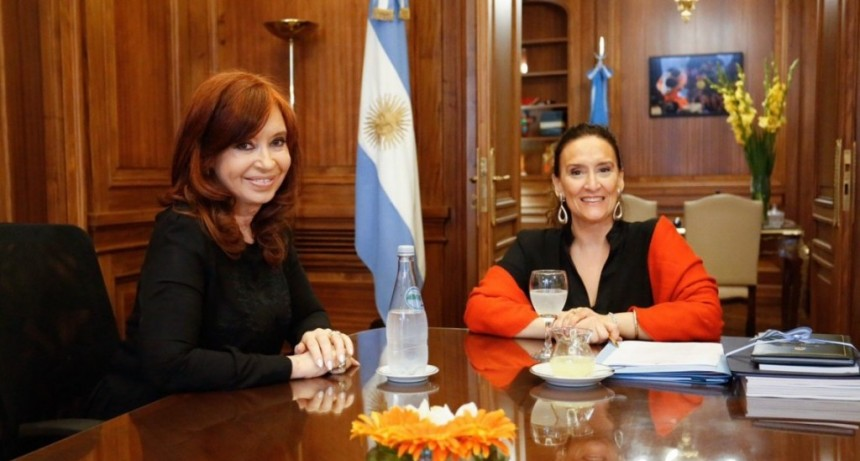 Cristina Kirchner se reunió con Gabriela Michetti por la transición