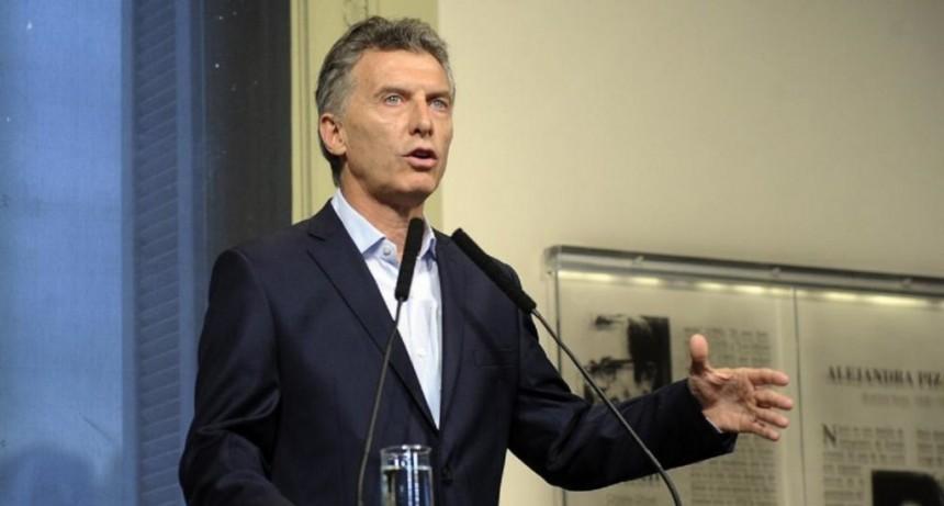 Macri hará este jueves un balance de su gestión por cadena nacional