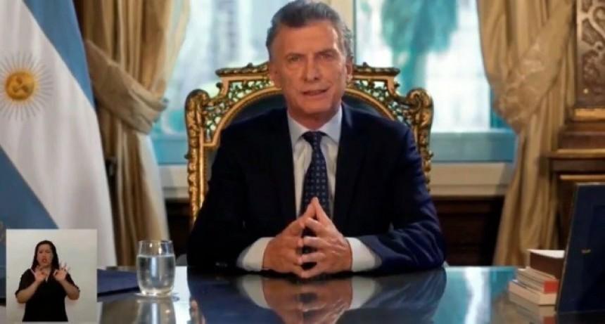 """Mauricio Macri, en cadena nacional: """"Dejamos un Estado en el que es más difícil robar la plata de los argentinos"""""""
