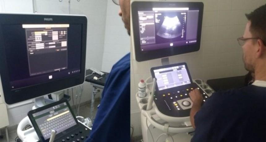 El Hospital del Oeste ya cuenta con un nuevo ecógrafo