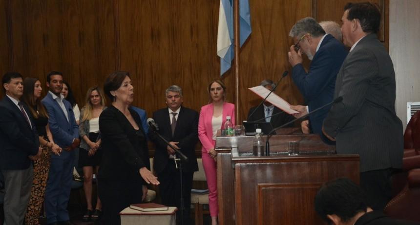 Juraron en sus cargos los nuevos senadores provinciales