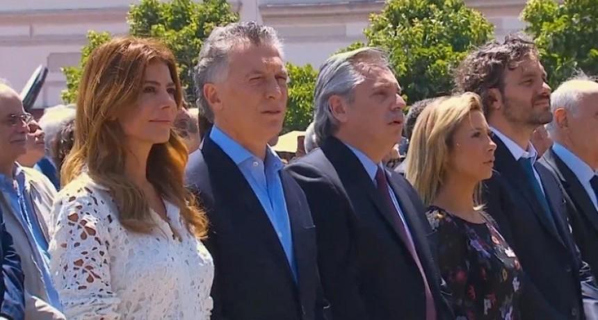 """En Luján, Mauricio Macri y Alberto Fernández participan de una misa por la """"unidad y la paz"""""""