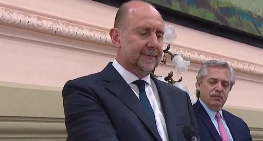 Con la presencia de Alberto Fernández, el peronista Omar Perotti asumió como gobernador de Santa Fe