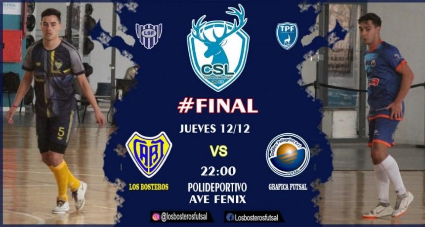 Futsal: Bosteros y Gráfica definen al campeón de la Copa San Luis