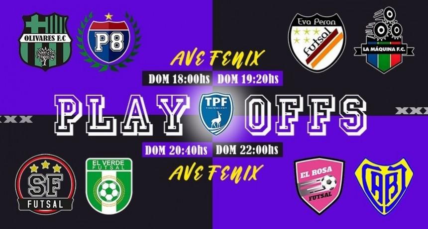 Hoy comienzan los PlayOffs del Futsal