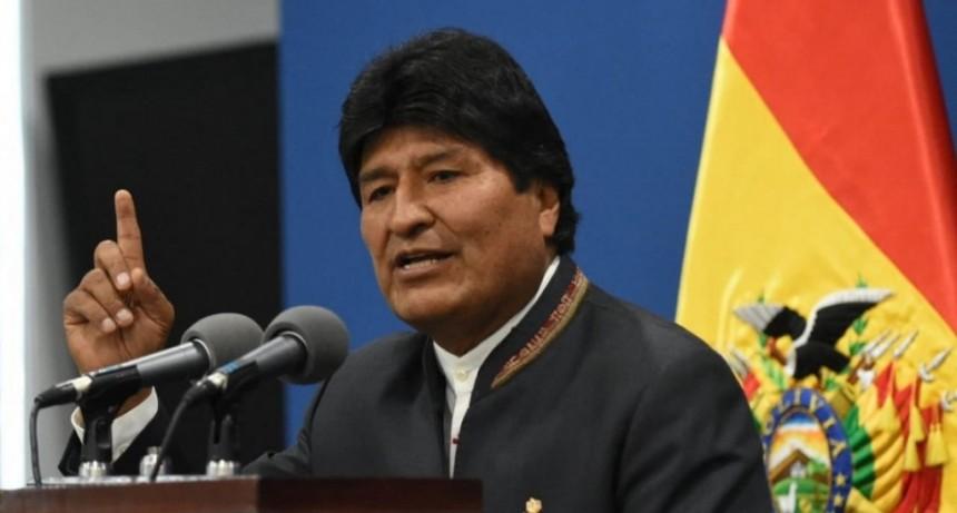 Evo Morales confirmó que comenzó a planificar la campaña presidencial desde Buenos Aires