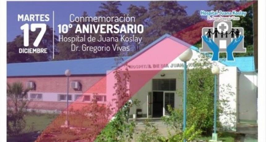 El Hospital de Juana Koslay se prepara para su 10º aniversario
