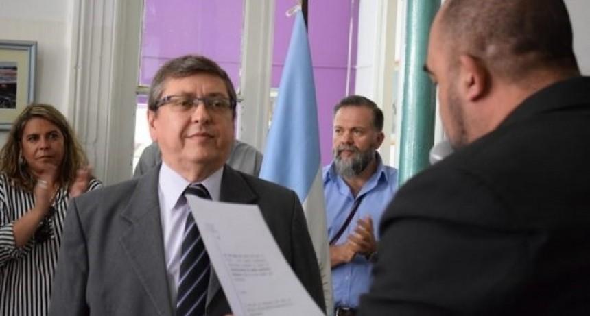 Luis Gil asumió como administrador de Obras Sanitarias Mercedes