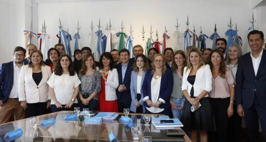 El ministro Berardo participó de una reunión junto a sus pares de todo el país
