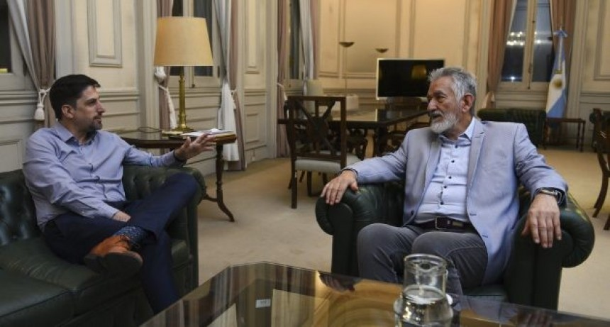 El gobernador se reunió con el ministro de Educación de la Nación