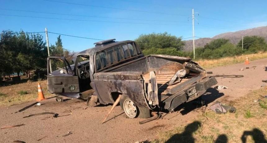 Villa de la Quebrada: un preso escapó de la comisaría, robó una camioneta y volcó
