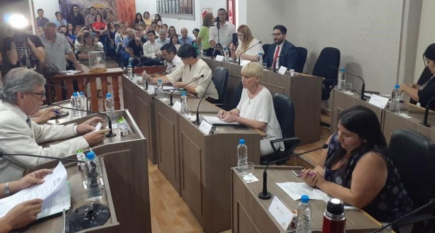 El Concejo aprobó la emergencia municipal y suspendió el boleto gratuito a estudiantes y jubilados durante el año 2020