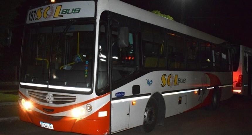 Villa Mercedes: realizaron una inspección en la empresa Sol Bus