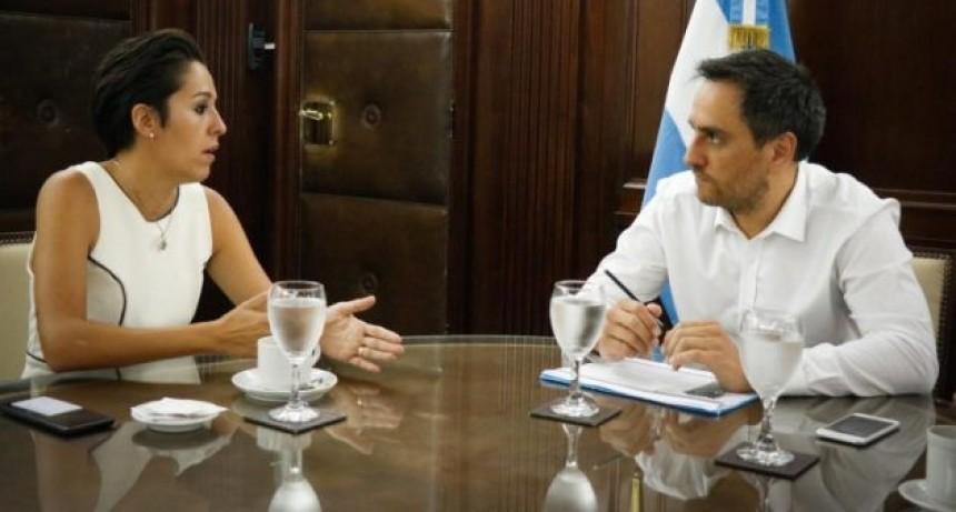 Spinuzza se reunió con el ministro de Ambiente y Desarrollo Sostenible de Nación