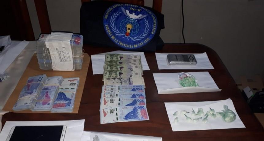 """San Luis: anularon dos """"kioscos"""" de droga"""