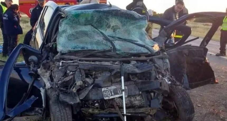 Siete muertos, entre ellos tres menores, por impactante triple choque en la Ruta 22