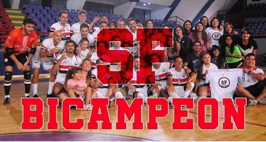 San Fernando Bicampeón del Futsal