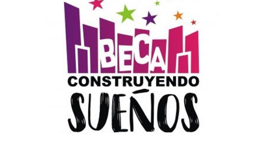 """Este lunes 23 comienzan las inscripciones a la Beca """"Construyendo Sueños"""""""