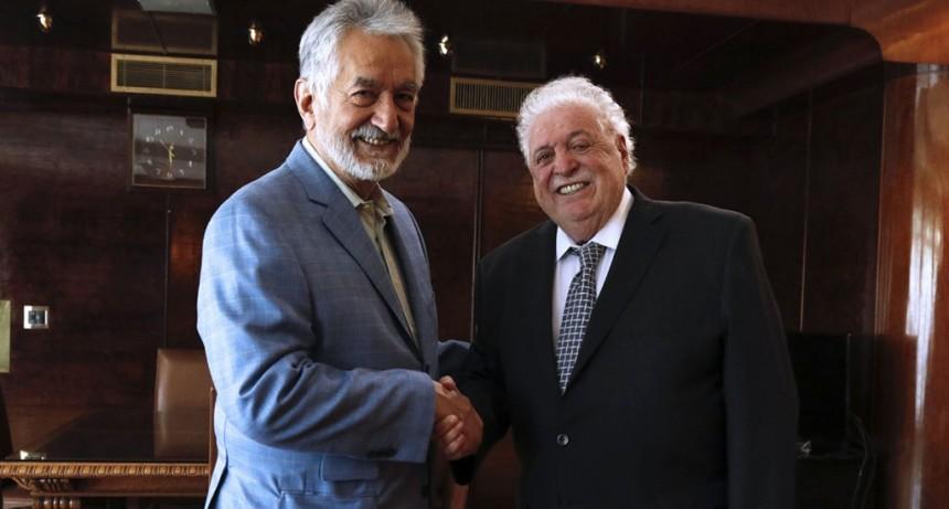 Alberto Rodríguez Saá se reunió con el ministro Ginés González García