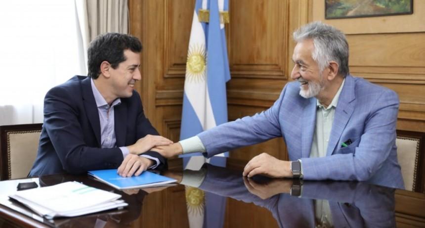 Cálido encuentro del gobernador con el ministro del Interior