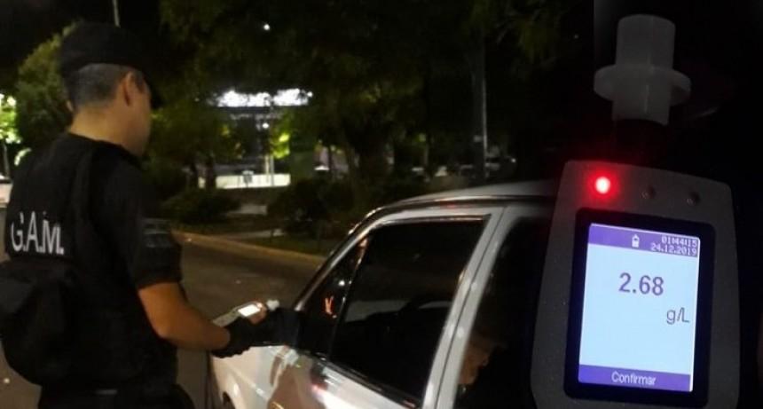 San Luis: la Policía provincial y el municipio capitalino realizaron controles de alcoholemia