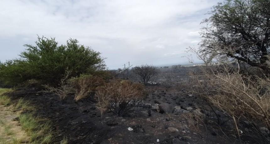 El incendio en La Punta afectó un tramo de fibra óptica
