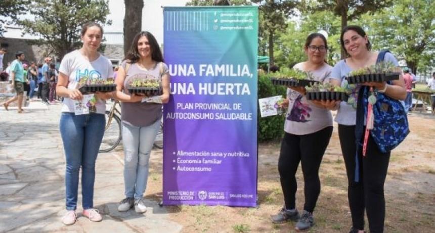 "El Plan ""Una familia, una huerta"" llega con la segunda etapa a Juana Koslay"