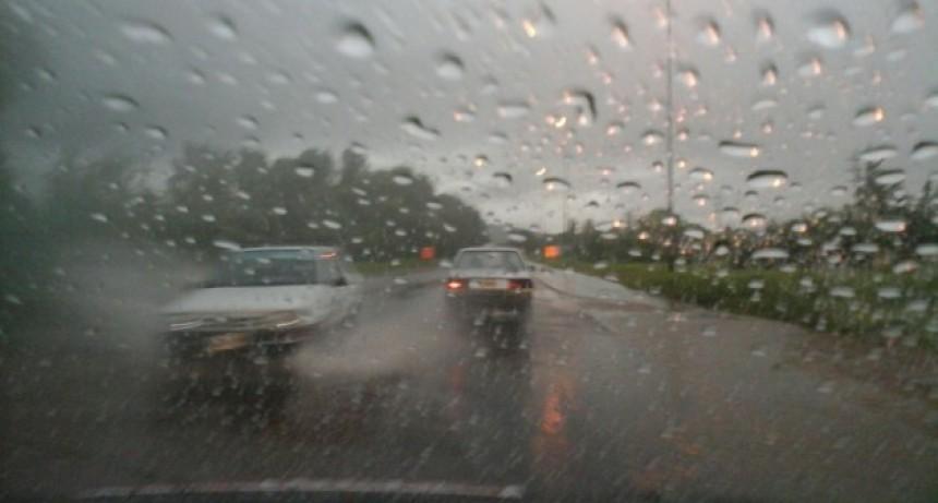 Rige un alerta por abundantes precipitaciones para este sábado, domingo y lunes
