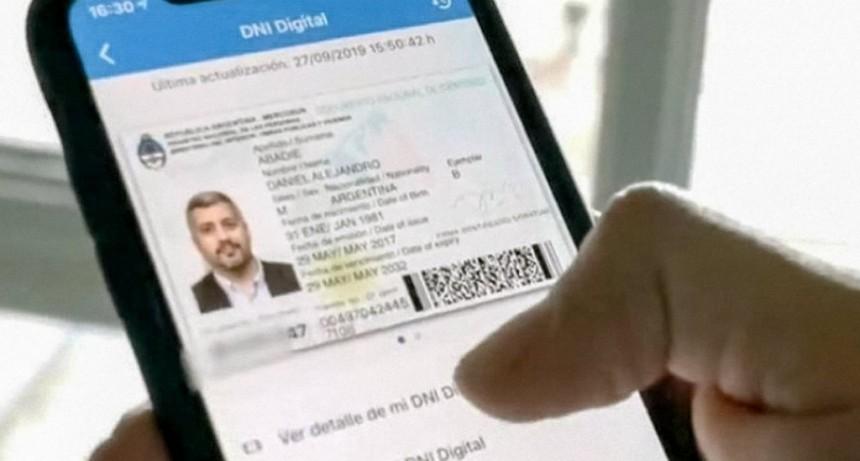 Se podrá usar el DNI del celular en los bancos