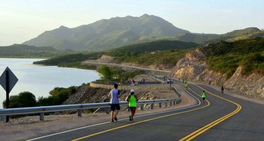 Inauguraron el camino del dique de Cruz de Piedra