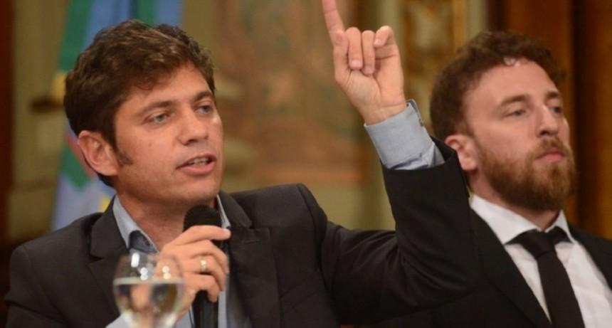 Kicillof volvió a criticar a Juntos por el Cambio por frenar la Ley Impositiva