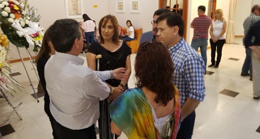 El vicegobernador y la jefa de Cultura acompañaron a la familia de Félix Máximo María
