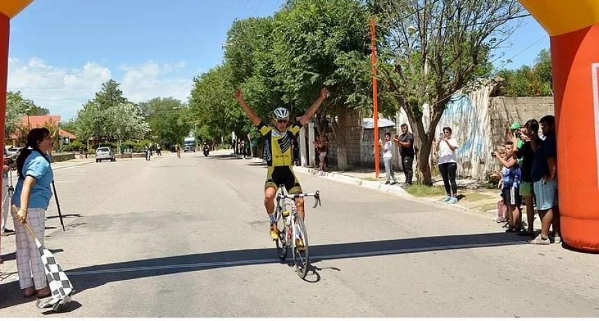 Tour San Luis Sub 21/ Nehuen Bazan triunfo en Nogoli.