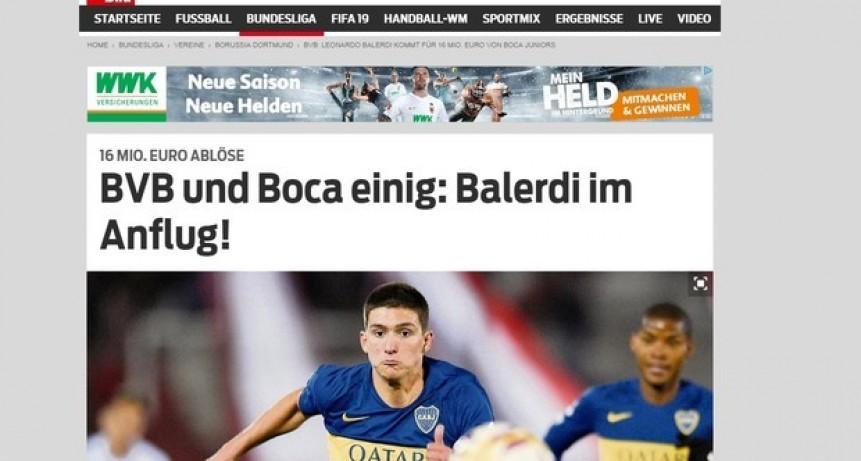 ¿Hay acuerdo por Balerdi?