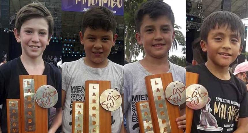 Un cuarteto puntano ganó en el Festival Nacional del Malambo
