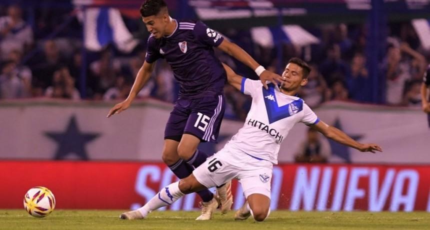River derrotó de visitante a Vélez